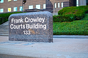 Dallas County Court - Frank Crowley Court Building Sign
