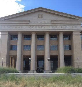 Picture of Rockwall County Court Entrance