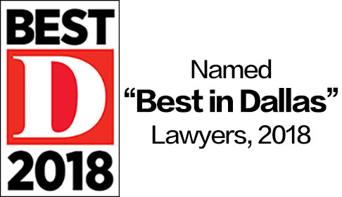 D Magazine Best Lawyers 2018