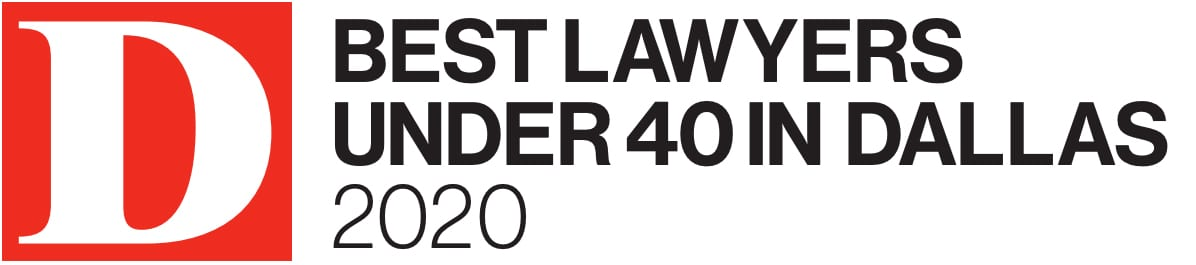 D Magazine Best Lawyer under 40 in 2020