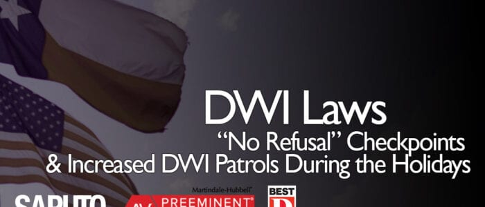 No Refusal DWI Checkpoint Laws Graphic