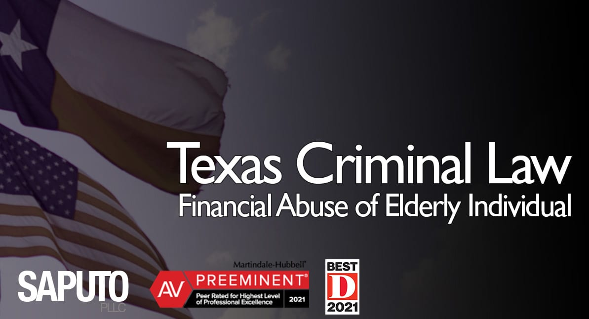 Graphic of Financial Abuse of Elderly Individual Offense